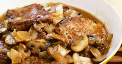 Pork Chops and Mushrooms