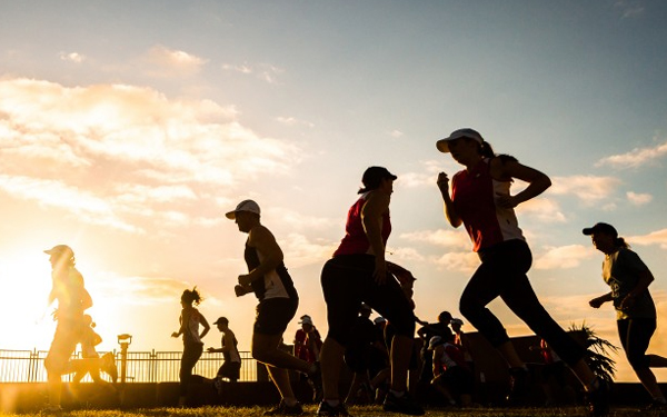 Being Social for Fitness