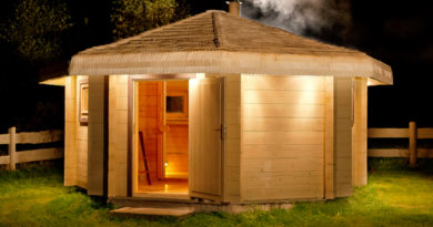 Health and Fitness Sauna