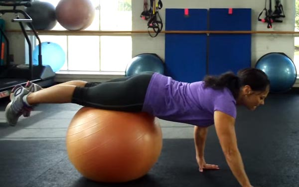Easy Fitness Ball Workouts