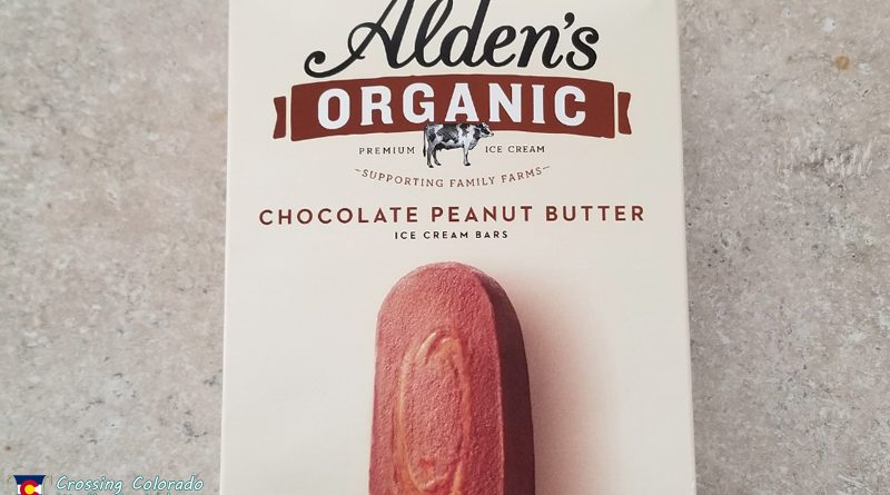Aldens Organic Chocolate Peanut Butter Bars