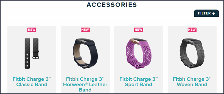 Fitbit Charge Bands