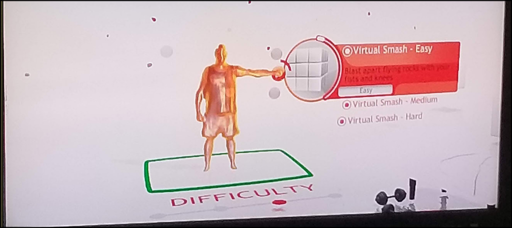 Virtual Smash Difficulty Levels