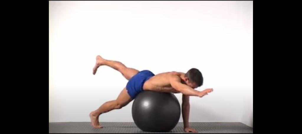 Swiss Ball Superman