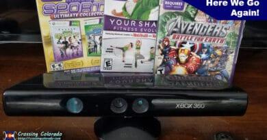 Xbox Kinect Challenge