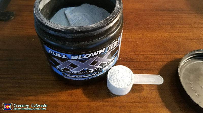 Dry Scooping Workout Powders