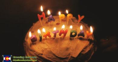Happy Birthday Food