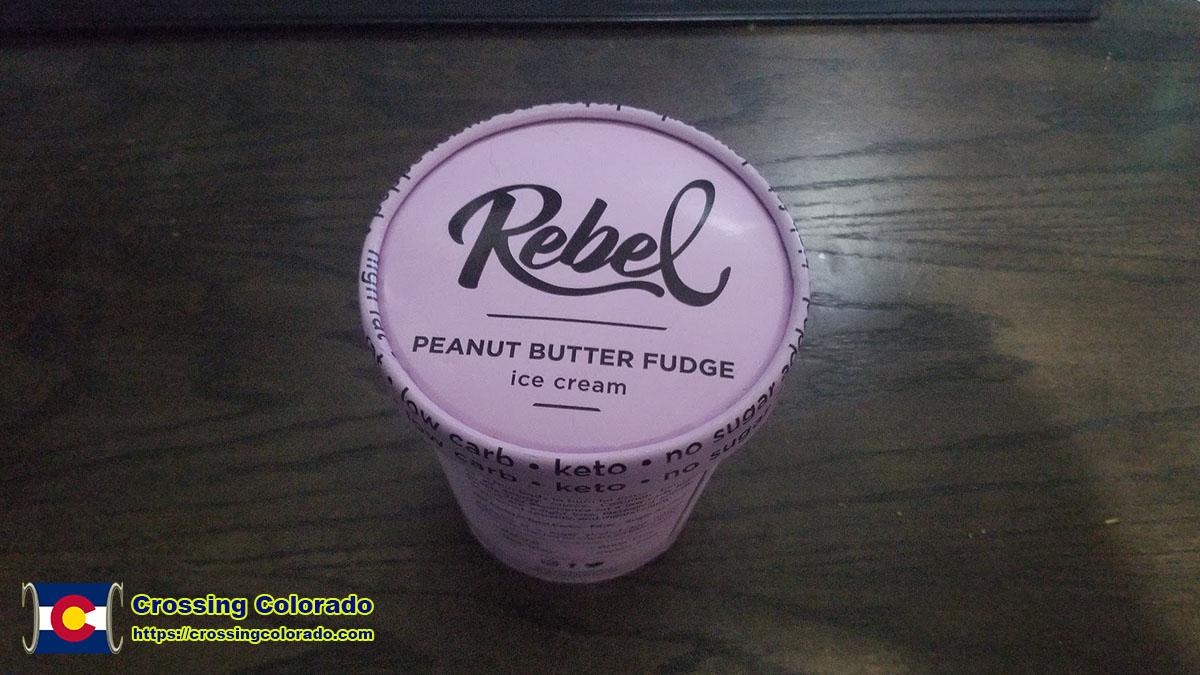 Rebel Peanut Butter Fudge Keto Ice Cream