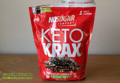 Keto Krax Dark Chocolate Almonds